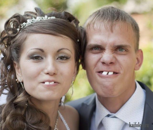 Смешные свадьбы (45 фото)