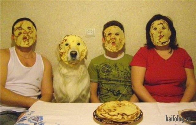 Смешные семейные фото (45 фото)