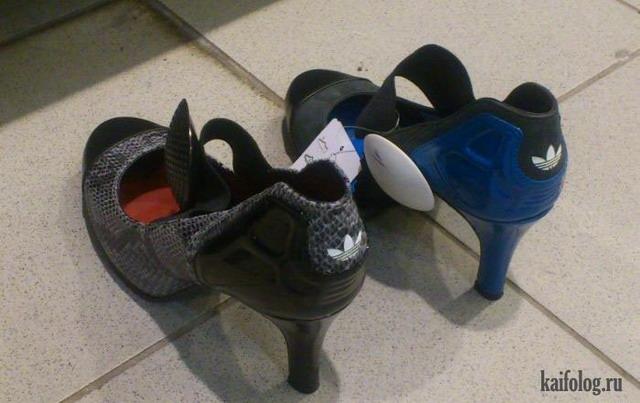 Прикольная обувь. Часть - 2 (65 фото)