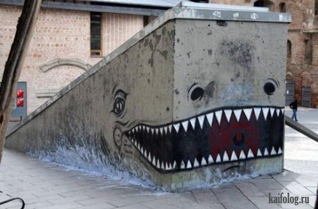 Лучшие граффити (55 фото)