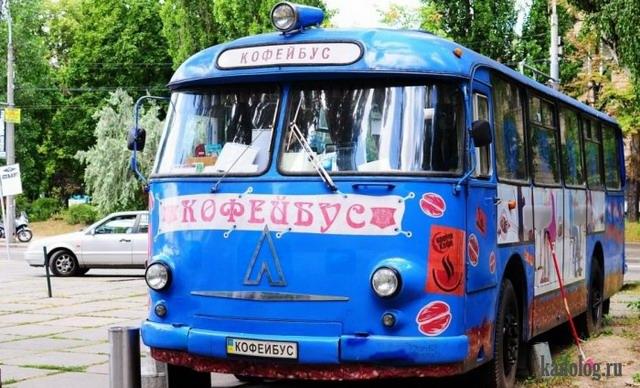 Приколы в автобусах (55 фото)