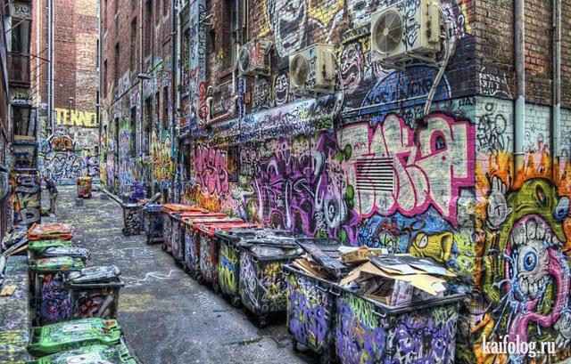 граффити красивые фото