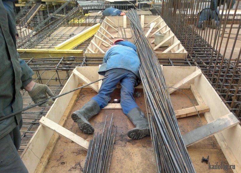 смешное фото монтаж строителей прямого