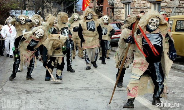 Карнавал в Вевчани (50 фото)