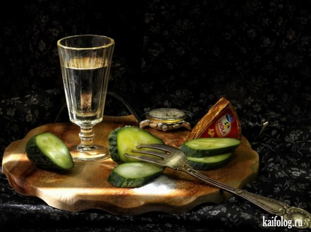 Красиво пить не запретишь (30 фото)