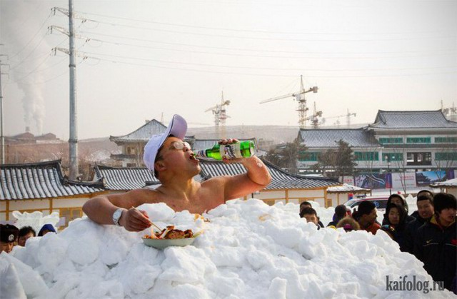Суровые зимние будни (60 фото)