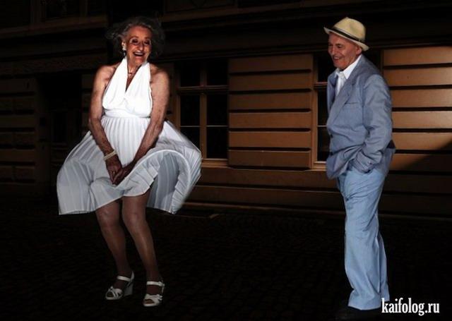 Пенсионеры из Германии воссоздали сцены фильмов (10 фото)
