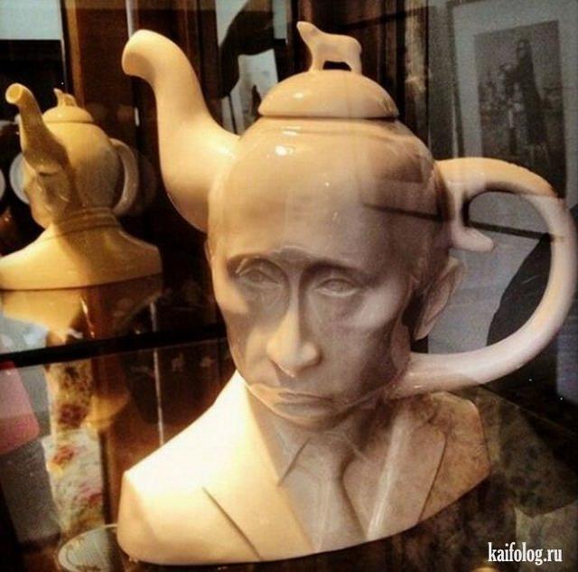 Приколы относительно Путина (60 фото)