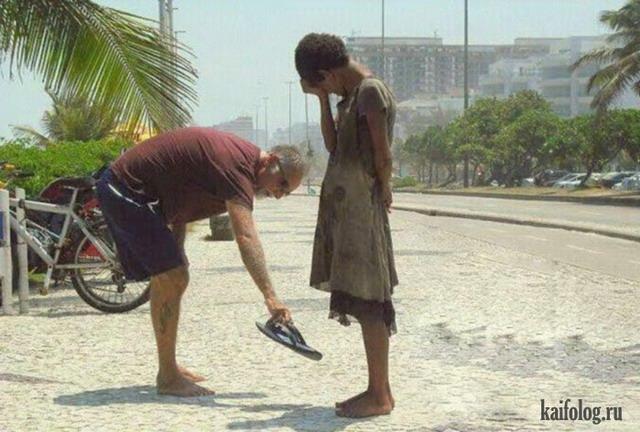 Мир не без добрых людей (45 фото + видео)