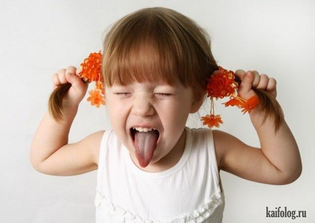 Смешные малыши (55 фото)