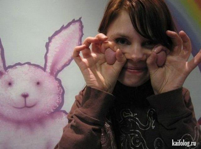 Лица девушек (45 фото)