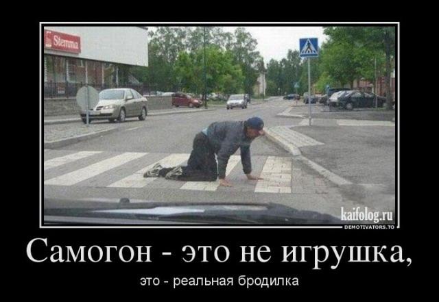 Пьяные демотиваторы (50 фото)