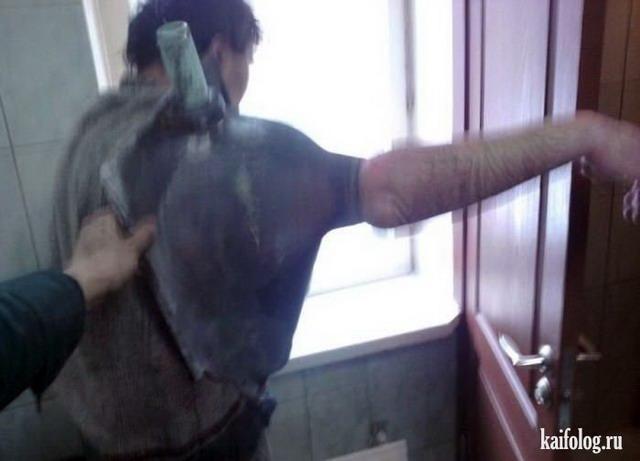 Приколы относительно сантехников (55 фото)