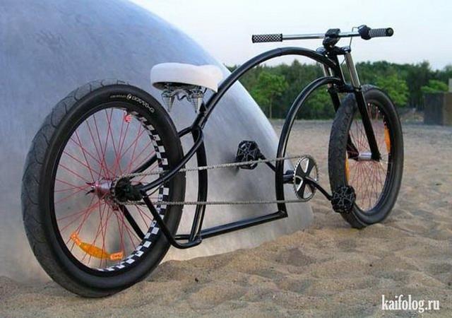 Прикольные велосипеды (60 фото)