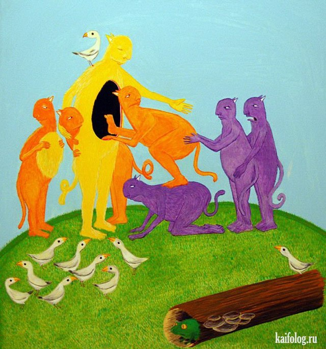 Психоделические картинки (55 картинок)