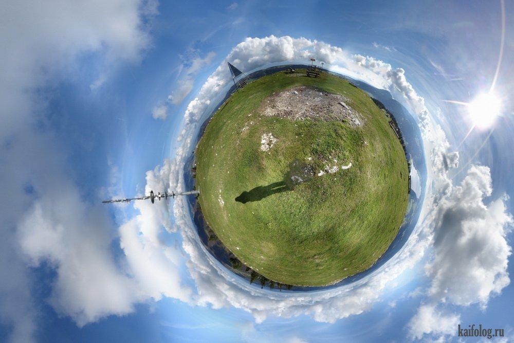 Как сделать панорамные фото