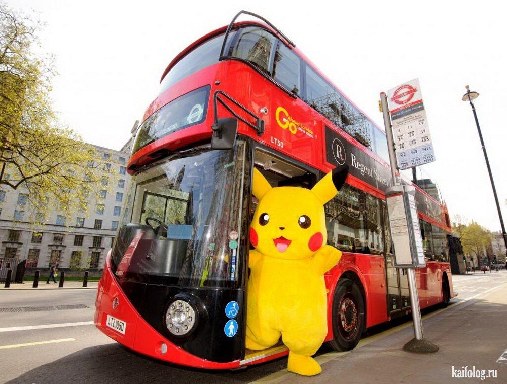 Фото приколы про автобусы
