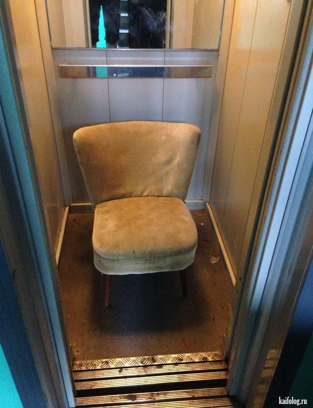 Русское в лифте 5 фотография