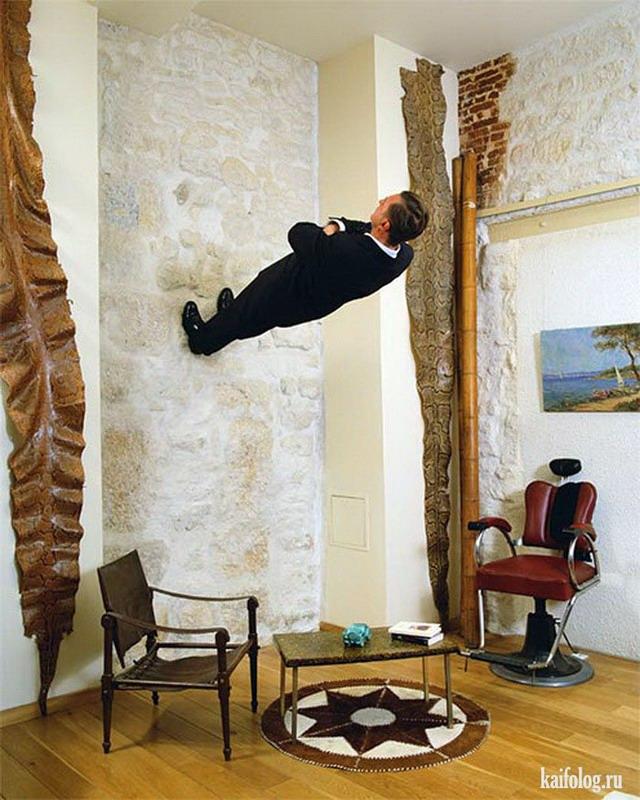 Сюрреализм Philippe Ramette (30 фото)