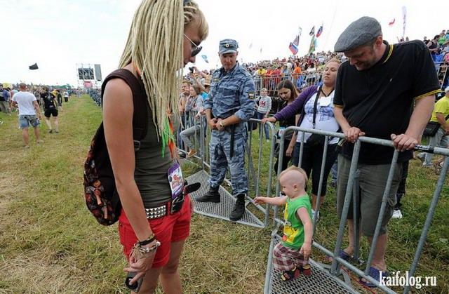 Чисто русские фестивали (40 фото)