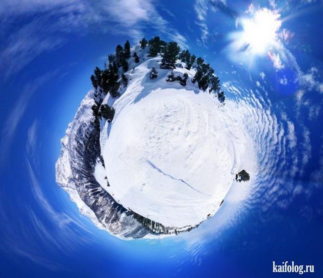 Сферические панорамы (55 фото)