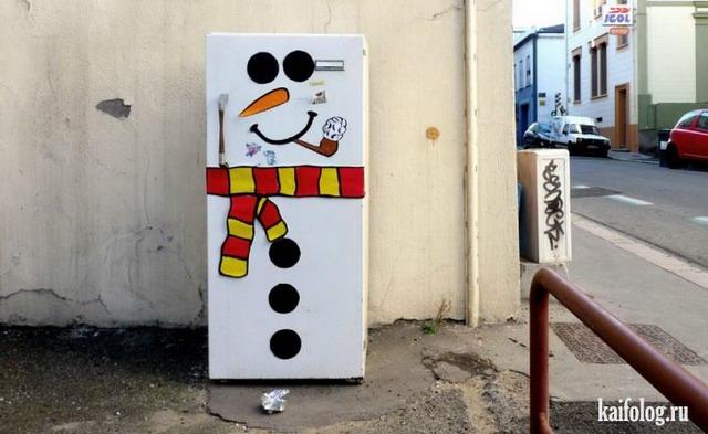 Стрит-арт от OaKoAk (60 фото)