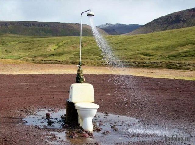 Приколы про ванну и душ (60 фото)