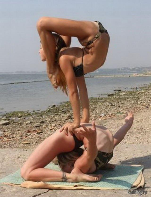 Гибкие женщины (45 фото)