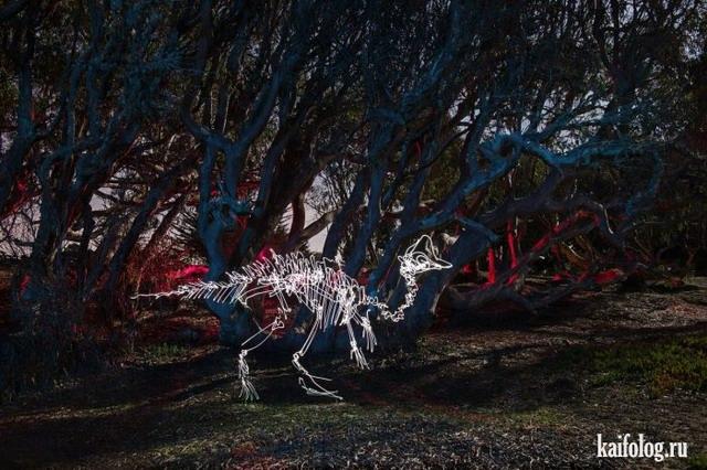 Световые граффити от Darren Pearson (60 фото)