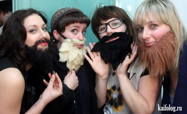 Бородатые женщины (40 фото + видео)