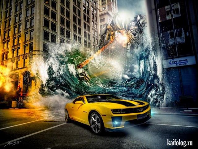 Фантастические 3D картинки (45 картинок)