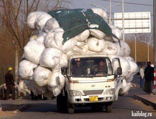 Мастера перевозки (50 фото)