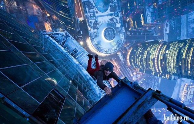 Любители высоты (40 фото)