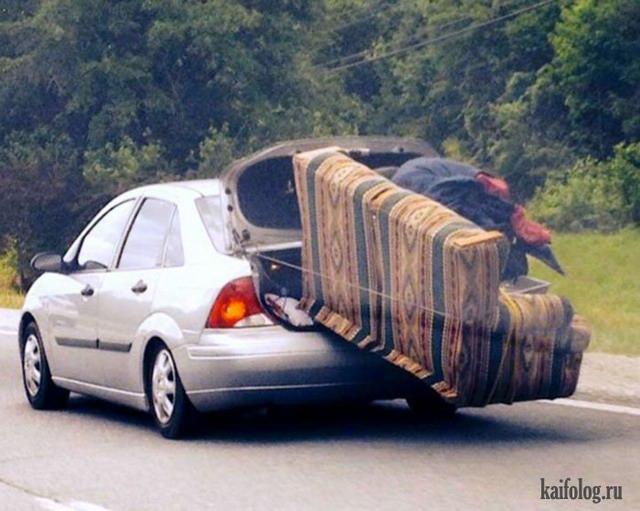 Приколы на дорогах (50 фото + видео)