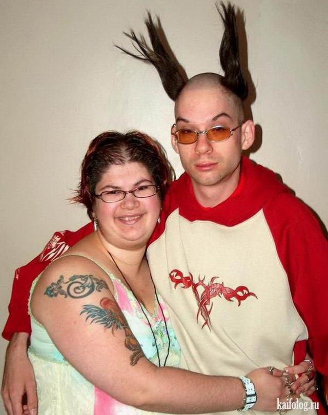 Смешные фото нестандартных пар