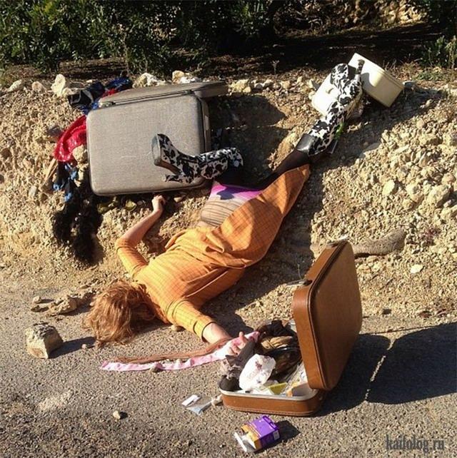 Прикольные фото упавших людей Sandro Giordano (55 фото)