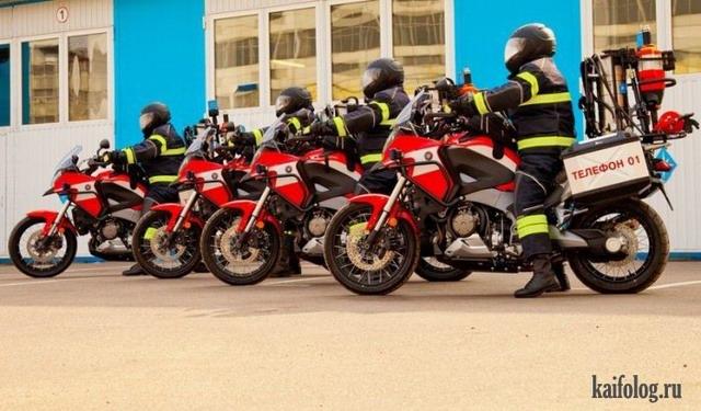Противопожарные приколы (60 фото + видео)