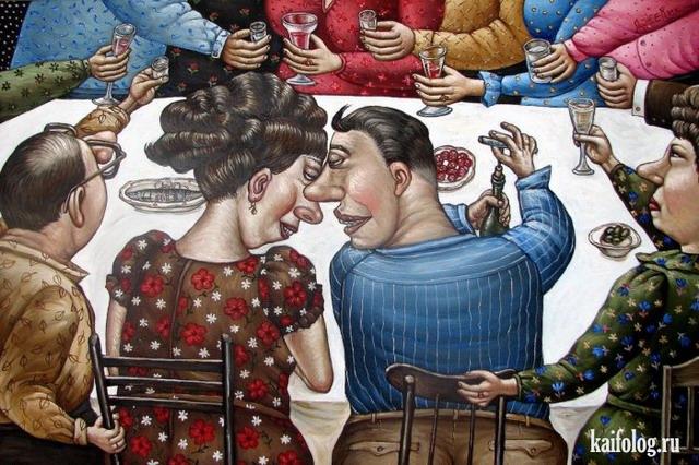 Картины Анжелы Джерих (45 картинок)