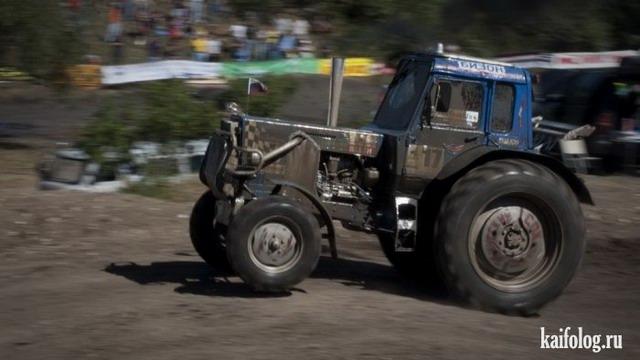 Гонки тракторов Бизон-Трек-Шоу (45 фото)