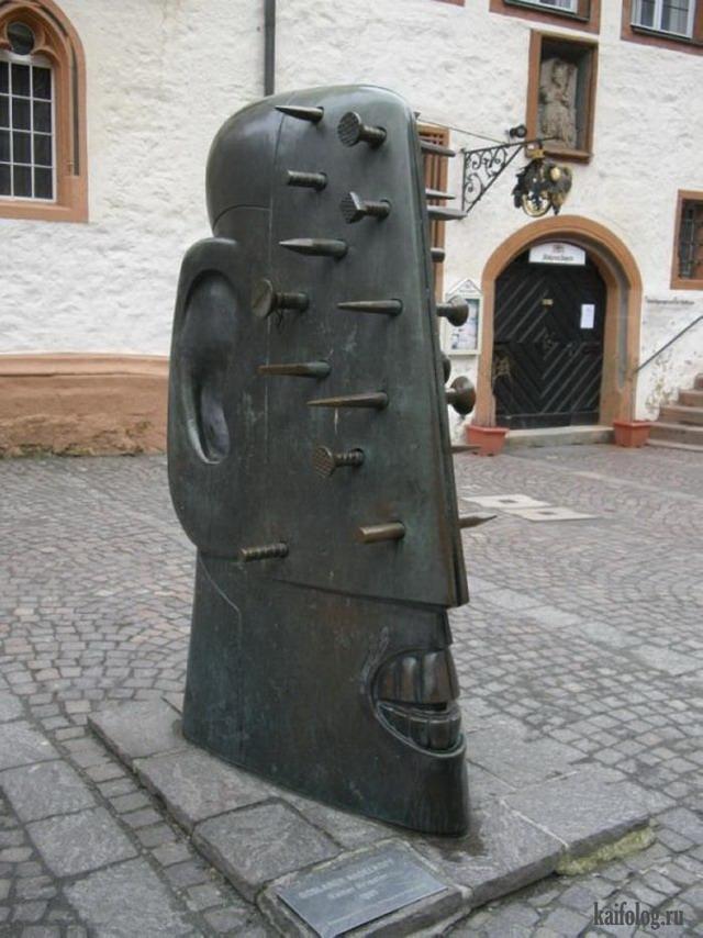 Прикольные статуи (45 фото)