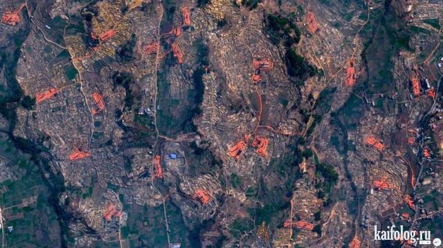 Сюрреализмы с высоты птичьего полета (60 фото)