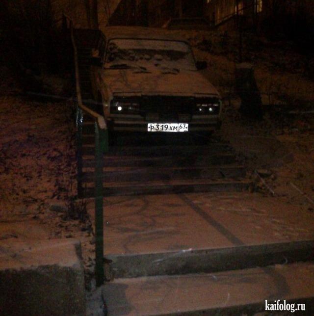 Я паркуюсь, как олень (50 фото)