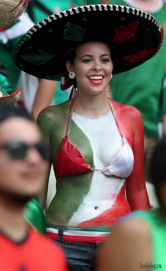 Девушки с чемпионата мира по футболу (65 фото)
