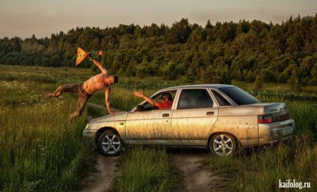 Отдых на природе по-русски. Часть - 4 (50 фото)