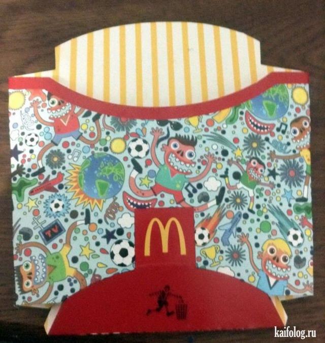 Приколы из макдоналдса (42 фото)
