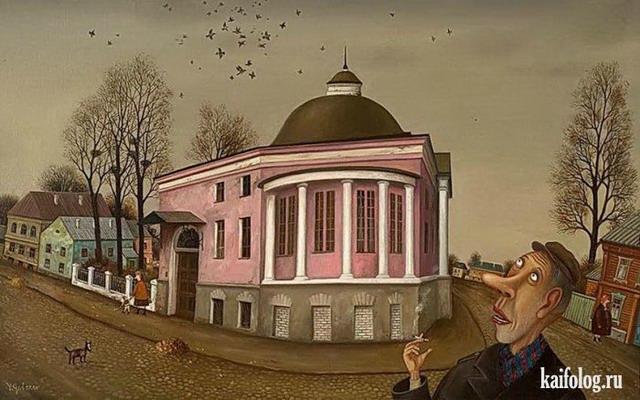 Валентин Губарев (40 картин)