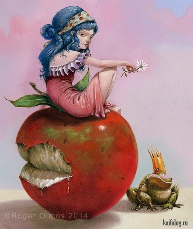 Иллюстрации для детских книжек Роджера Олмоса