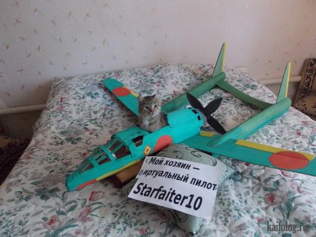 Мой хозяин - виртуальный пилот (35 фото)