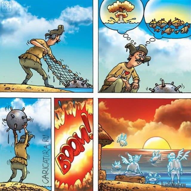 Карикатуры и картинки (50 картинок)