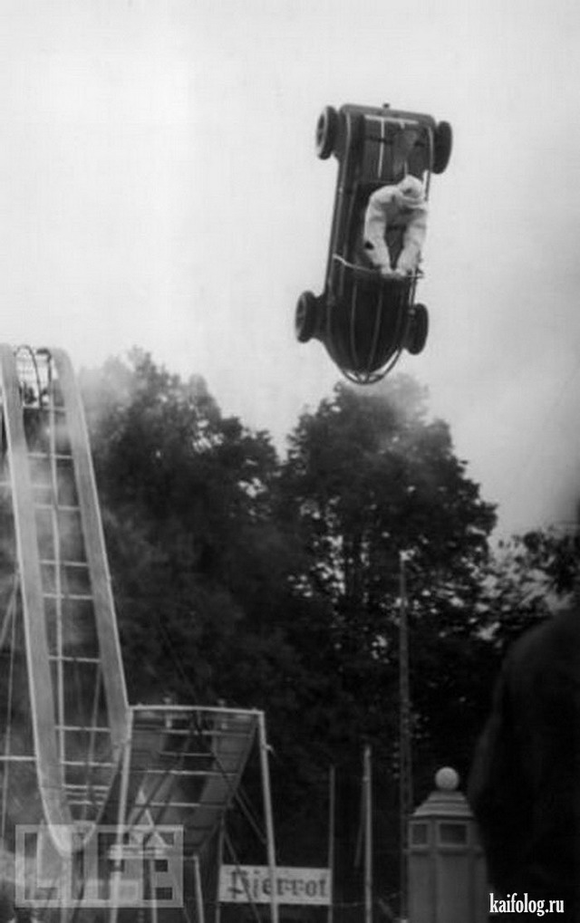 Ретро каскадеры (35 фото)